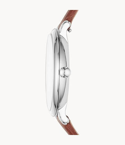 Fossil Women's Jacqueline Quartz Leather Three-Hand Watch - ES4368 4