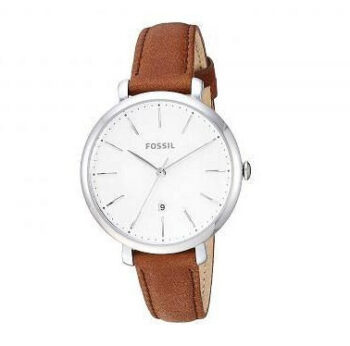 Fossil Women's Jacqueline Quartz Leather Three-Hand Watch - ES4368 4