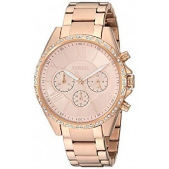 Fossil Women's Modern Courier Stainless Steel Chronograph Dress Quartz Watch - BQ3377