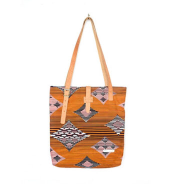 City Size Print Tote By Suave