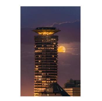 KICC +Moon By Peter Irungu