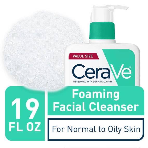 CeraVe Foaming Facial Cleanser 1