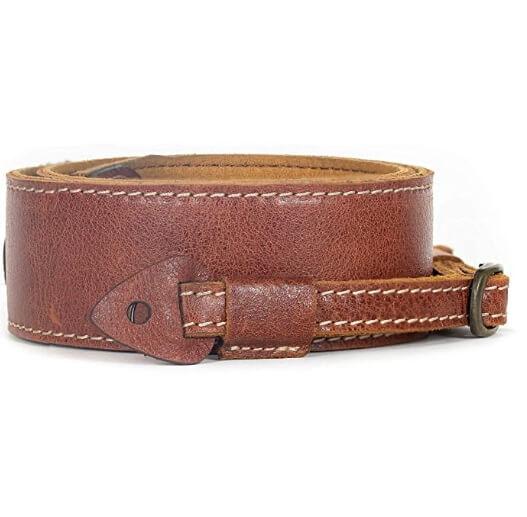 MegaGear Sierra Series Genuine Leather Camera Shoulder or Neck Strap