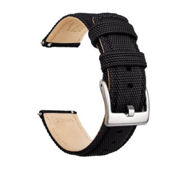 Ritche Sailcloth Watch Band With Quick Release 20mm 4