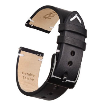 Ritche Top Grain Leather Watch Strap With Quick Release 22mm 1